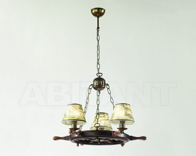 Купить Люстра Cremasco Illuminazione snc Laguna Veneta 4033/3S-BRSF