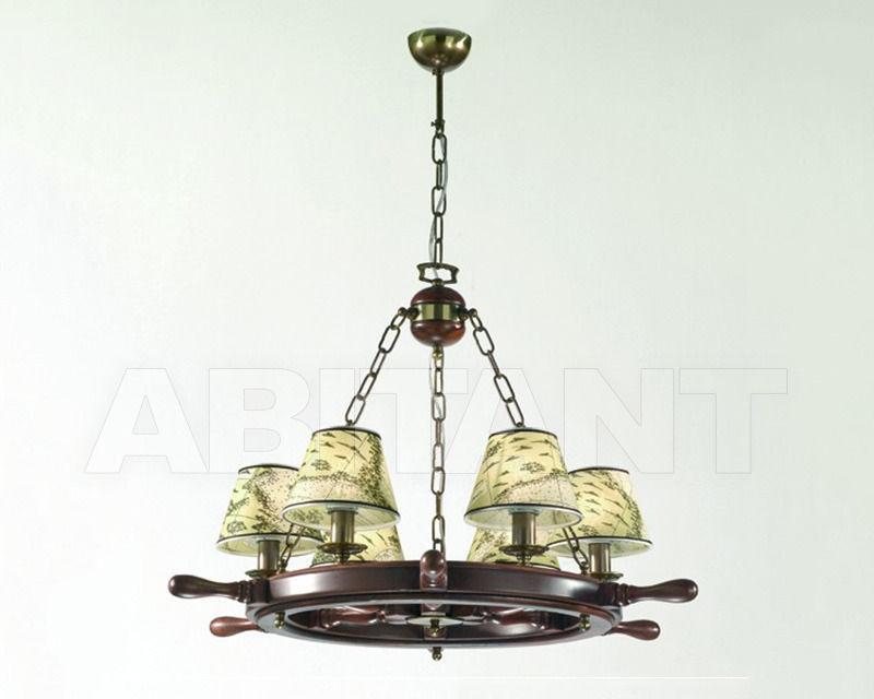 Купить Люстра Cremasco Illuminazione snc Laguna Veneta 4034/6S-BRSF