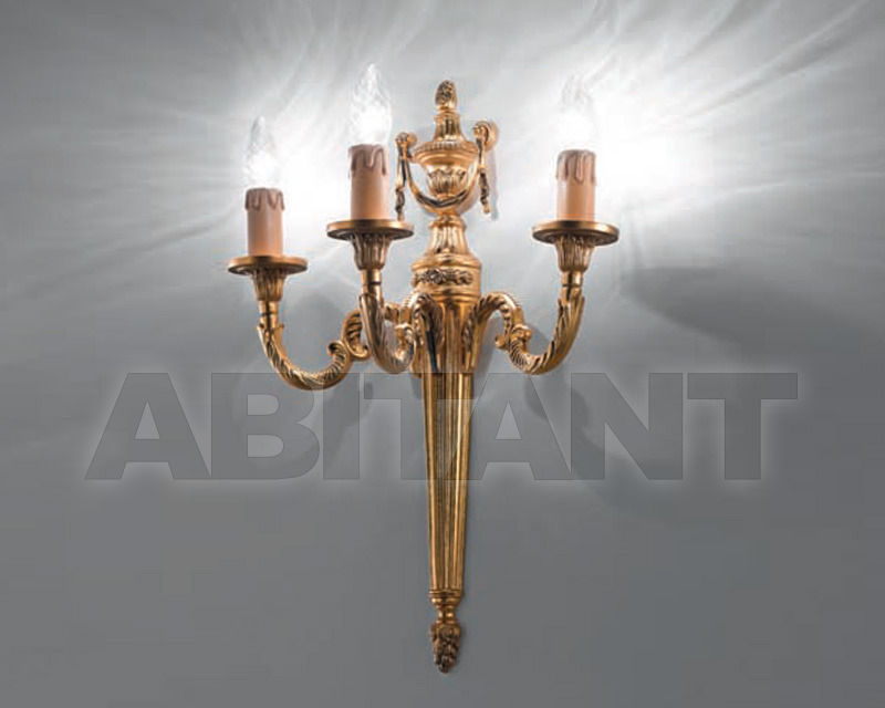 Купить Бра Cremasco Illuminazione snc Opere Di Luce 1831/3AP-OA-CAN