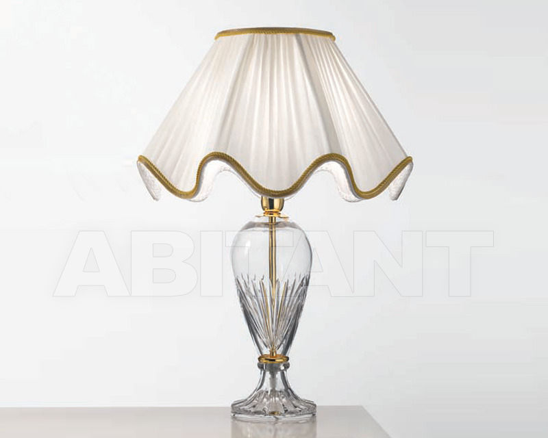 Купить Лампа настольная Cremasco Illuminazione snc Opere Di Luce 3013/1LA-OL