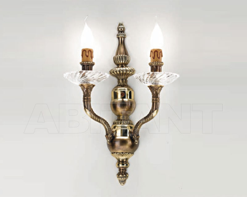 Купить Бра Cremasco Illuminazione snc Opere Di Luce 4001/2AP-BRSF
