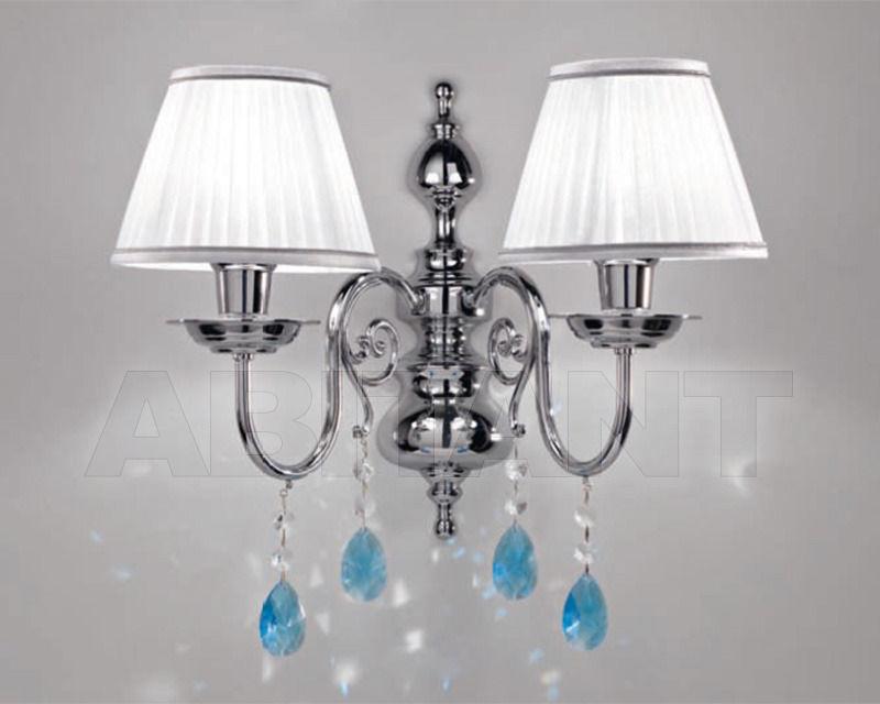 Купить Бра Cremasco Illuminazione snc Opere Di Luce 4085/2AP-CR-AZ-BI