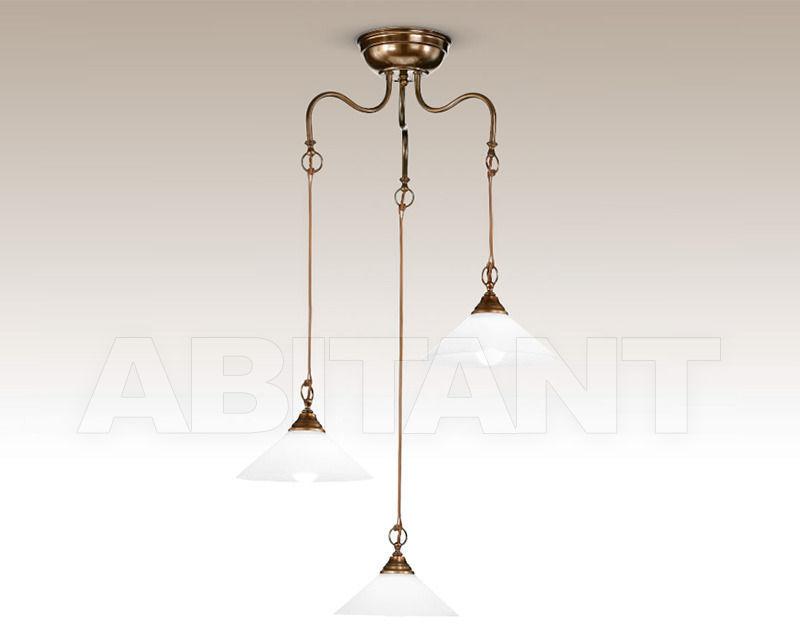 Купить Люстра Cremasco Illuminazione snc Vecchioveneto 0313/3S-BR-VE4