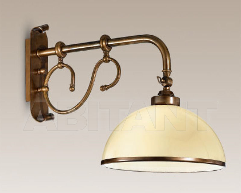 Купить Бра Cremasco Illuminazione snc Vecchioveneto 0367/1AP-PC-BR-VE2-..