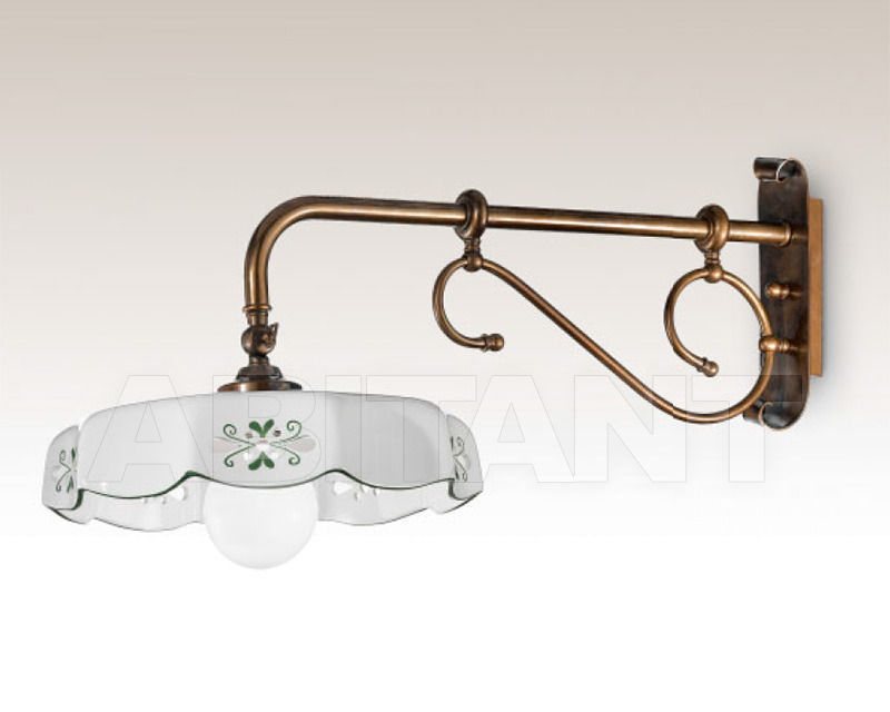 Купить Бра Cremasco Illuminazione snc Vecchioveneto 0369/1AP-MD-BR-CE2-..