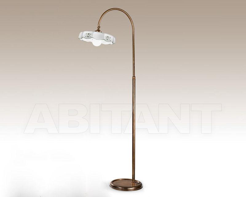 Купить Торшер Cremasco Illuminazione snc Vecchioveneto 0475/1P-BR-CE2