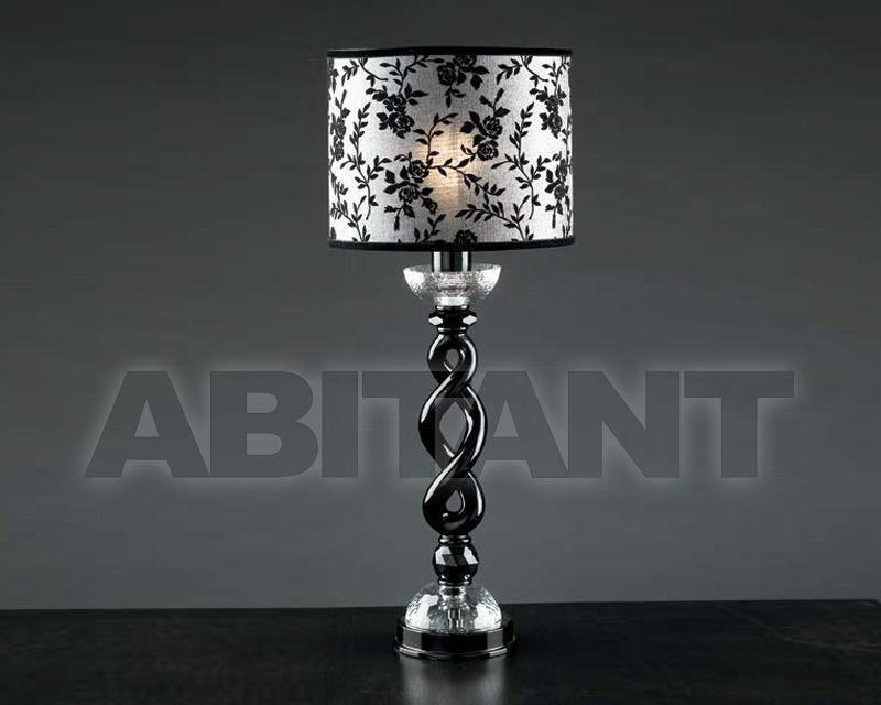 Купить Лампа настольная Epoca Lampadari snc  Epoca 2009 1402/LG1 dec. nero