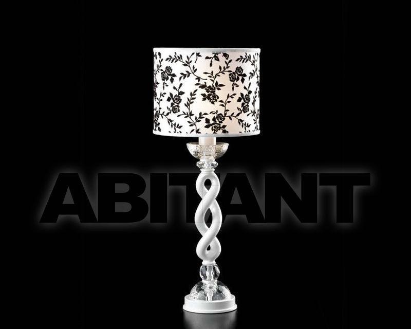 Купить Лампа настольная Epoca Lampadari snc  Epoca 2009 1402/LG1 dec. bianco