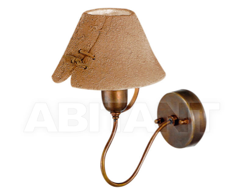 Купить Бра Cremasco Illuminazione snc Vecchioveneto 0544/1AP-RS