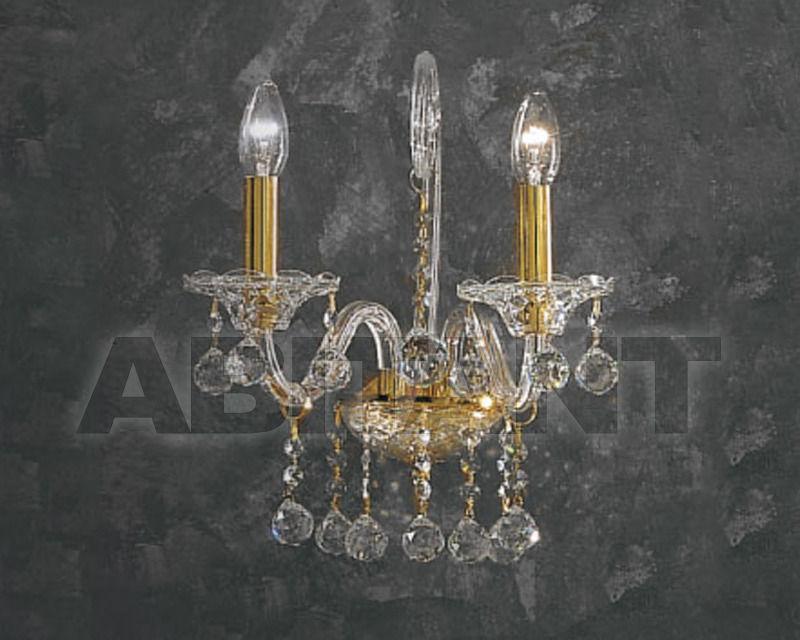 Купить Бра Asfour Crystal Crystal 2013 WL 160/1 Gold  BALL