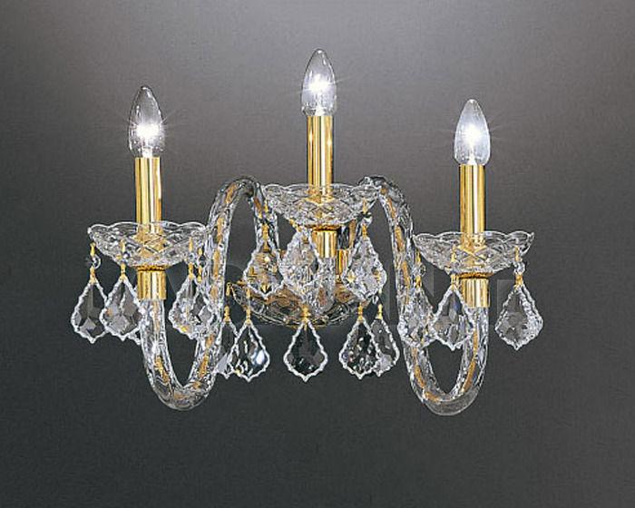 Купить Бра Asfour Crystal Crystal 2013 WL 185/3 GOLD (PEND)