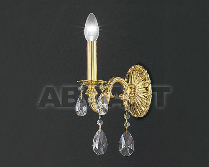 Купить Бра Asfour Crystal Crystal 2013 WL 25010/1 Gold Pear