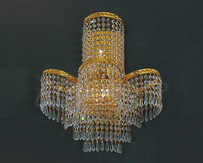 Купить Бра Asfour Crystal Crystal 2013 WL 27380/45*45 Gold Octagons
