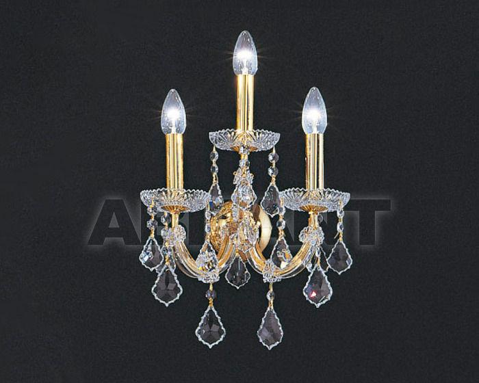 Купить Бра Asfour Crystal Crystal 2013 WL 3023/3 GOLD