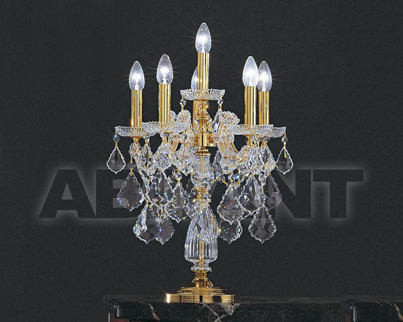 Купить Лампа настольная Asfour Crystal Crystal 2013 TL 1569/5+1 GOLD