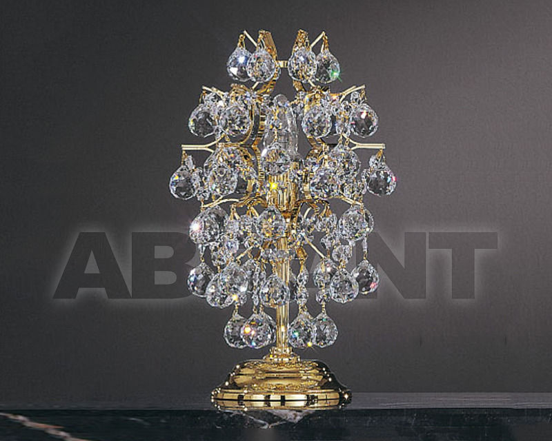 Купить Лампа настольная Asfour Crystal Crystal 2013 TL 832/20/1 Gold ball