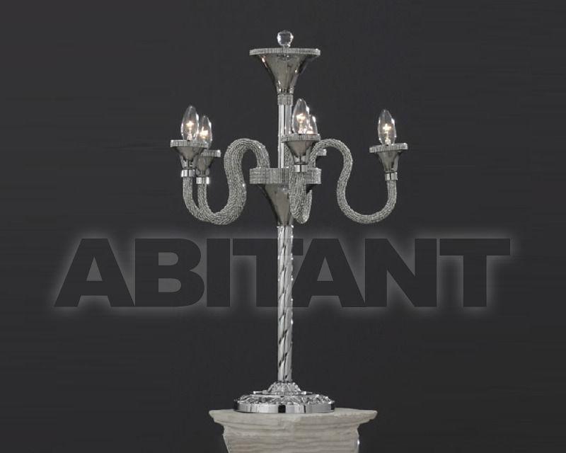 Купить Лампа настольная Asfour Crystal Crystal 2013 CL 69/4+1 Gold Patina Ball
