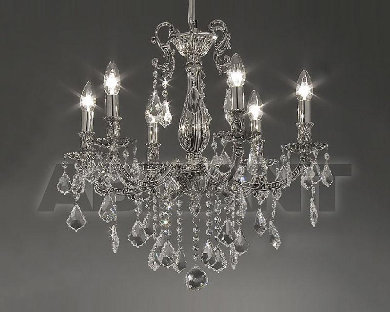 Купить Люстра Asfour Crystal Crystal 2013 CH 15070/6 Chrome Patina Pend