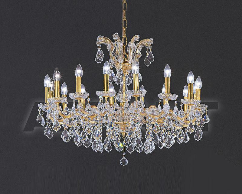 Купить Люстра Asfour Crystal Crystal 2013 CH 16/5 Gold