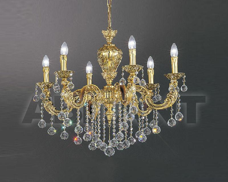 Купить Люстра Asfour Crystal Crystal 2013 CH 169/6 Gold Patina Ball