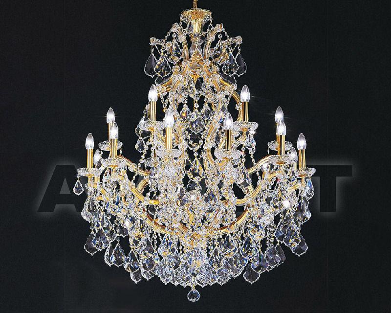 Купить Люстра Asfour Crystal Crystal 2013 CH 22/6/18+1 GOLD