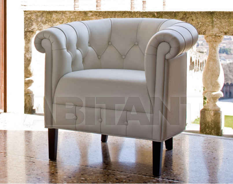 Купить Кресло CHESTER Alberta Salotti Armchair And Chaise Longue Collection PSPCHR