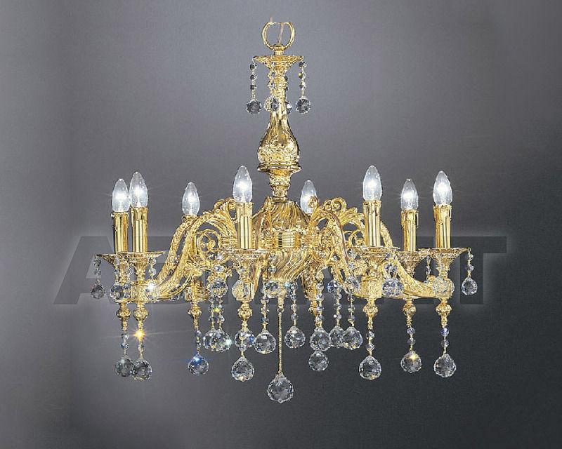Купить Люстра Asfour Crystal Crystal 2013 CH 23011/8/8 Gold BALL