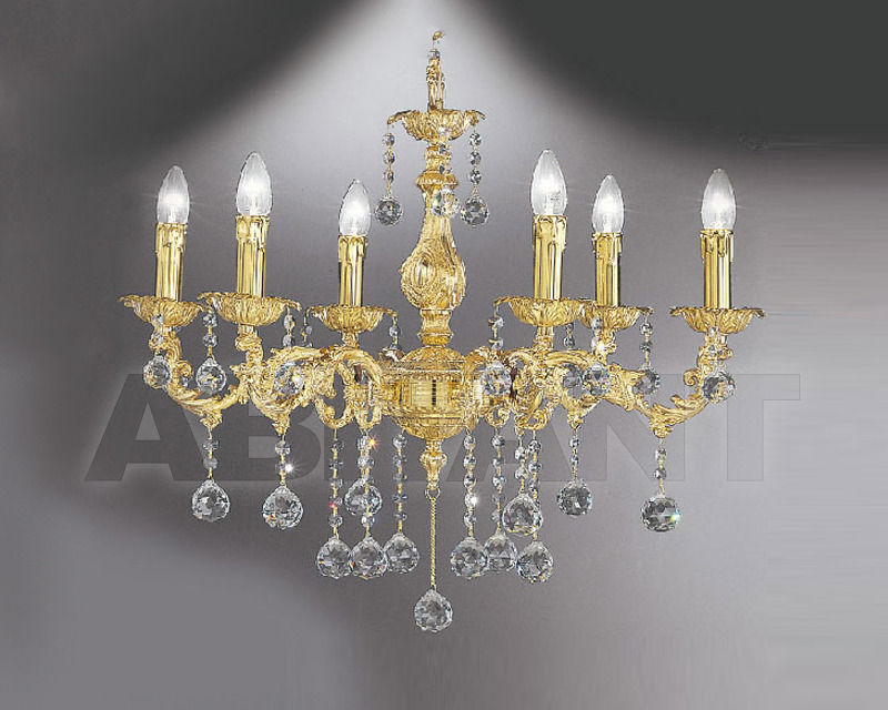 Купить Люстра Asfour Crystal Crystal 2013 CH 23022/6 GOLD BALL