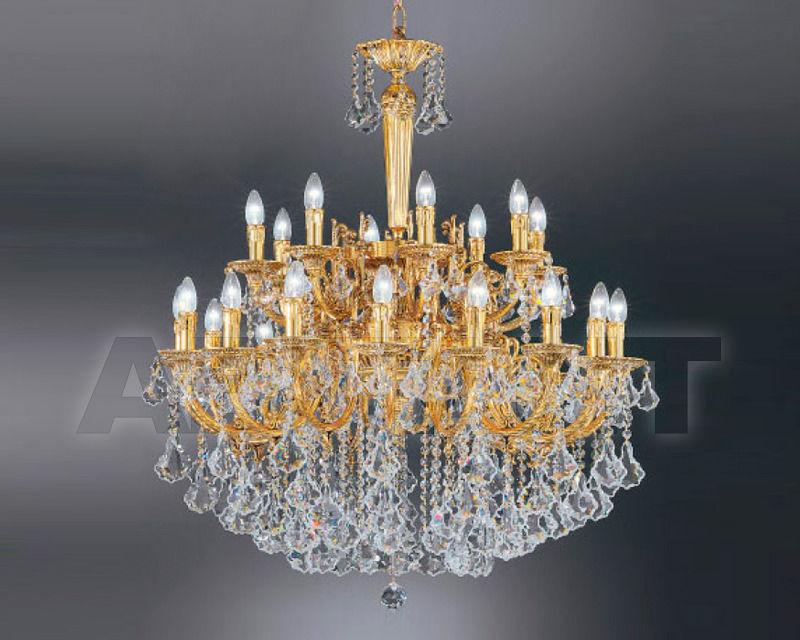 Купить Люстра Asfour Crystal Crystal 2013 CH 245/24 GOLD PATNA PEND 902