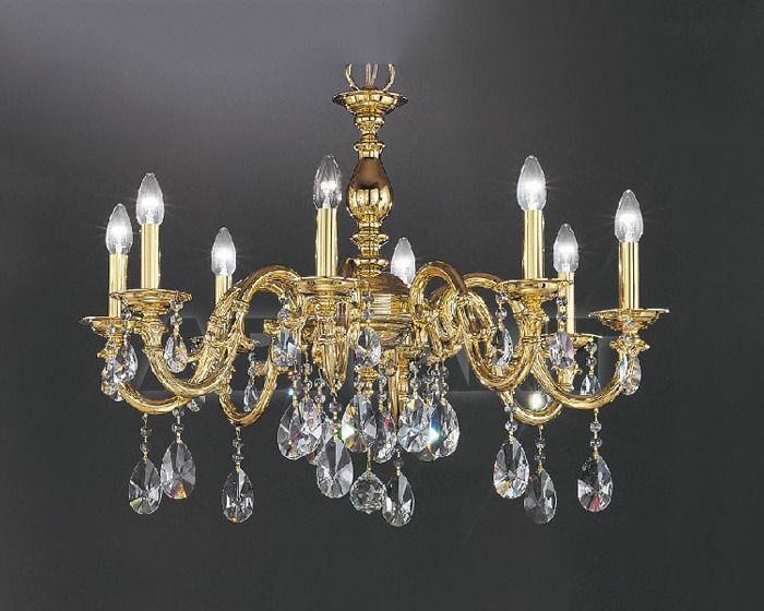 Купить Люстра Asfour Crystal Crystal 2013 CH 25008/8 Gold PEAR