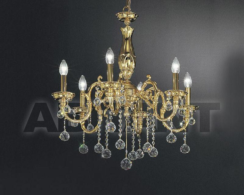 Купить Люстра Asfour Crystal Crystal 2013 CH 254/6 Gold BALL