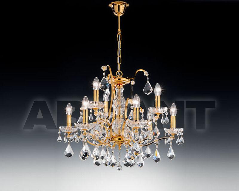 Купить Люстра Voltolina Classic Light srl Novita' Salisburgo 6+3L