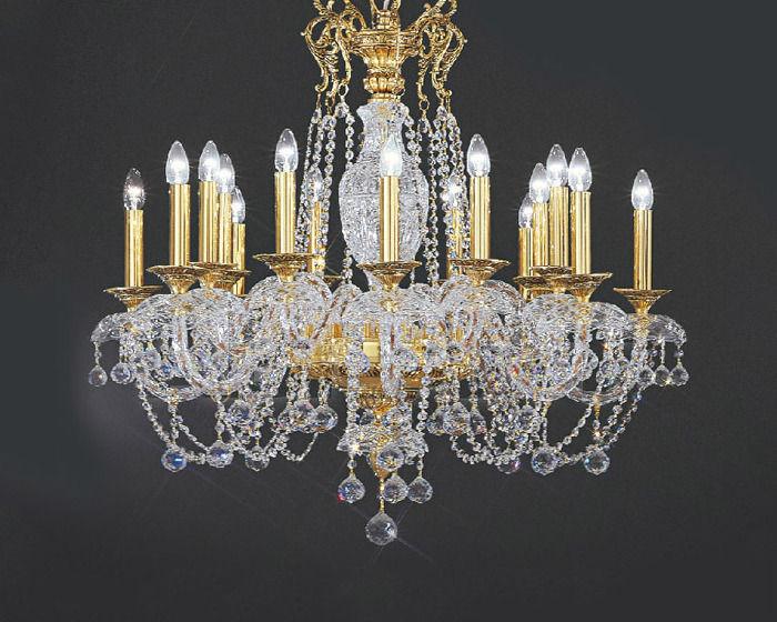 Купить Люстра Asfour Crystal Crystal 2013 CH 34004/16 gold ball