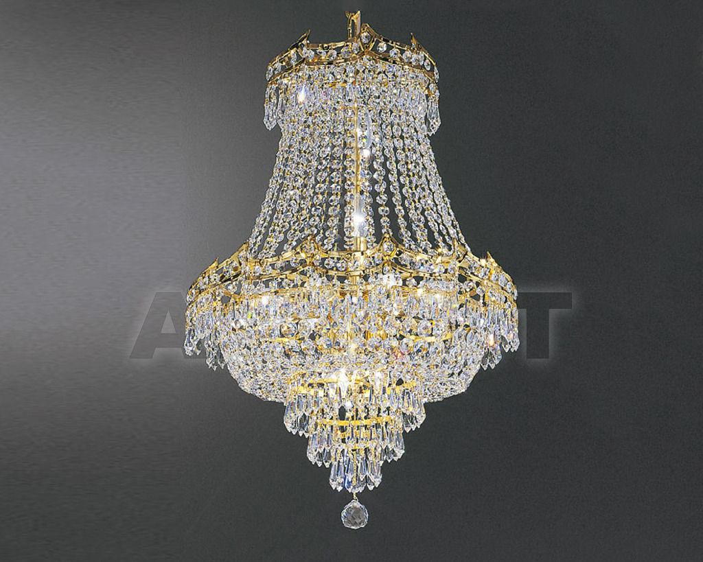 Купить Люстра Asfour Crystal Crystal 2013 CH 5156/40/8 Octagons Gold