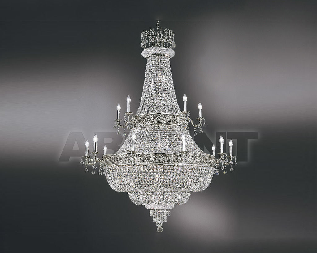 Купить Люстра Asfour Crystal Crystal 2013 CH 535/150/15 Chrome (OX)