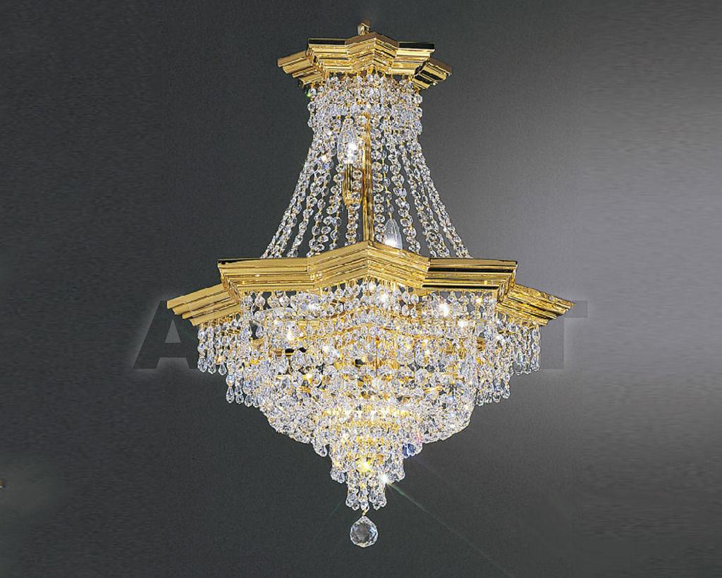 Купить Люстра Asfour Crystal Crystal 2013 CH 5620/105/33 Octagons Gold