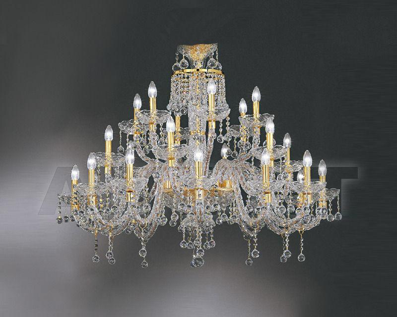 Купить Люстра Asfour Crystal Crystal 2013 CH 77/24 GOLD (BALL)