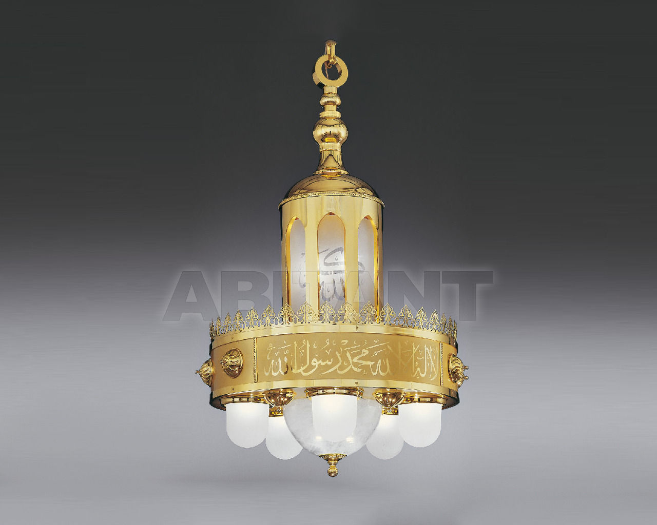 Купить Люстра Asfour Crystal Crystal 2013 CH S. ZEINAB 67 * 135 Glass Gold Without Lamps