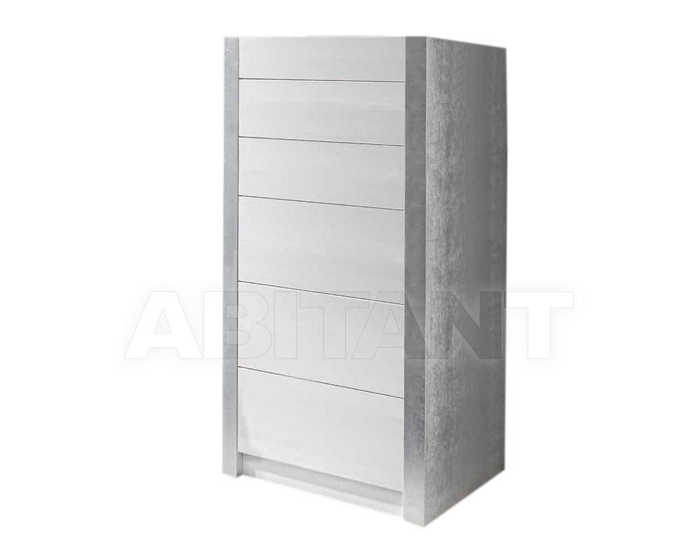 Купить Комод Cubilles Logica  Dormitorios Exclusivos DHARMA CHIFFONIER 70 DHARMA - LACADO COMBI PLATA-ORO