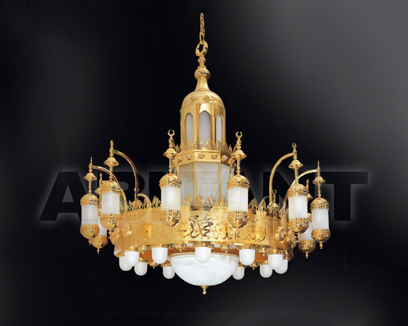Купить Люстра Asfour Crystal Crystal 2013 CH. S. ZEINAB 2 M GLASS ADORNED wihtout bulbs