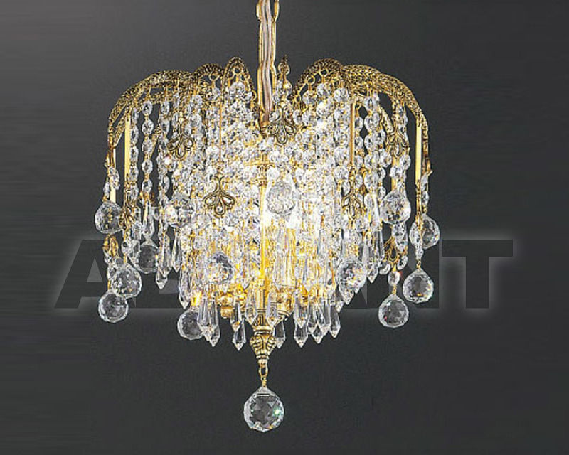 Купить Люстра Asfour Crystal Crystal 2013 LN 706/32/5 Gold Patina.Oct*Ball*Drop