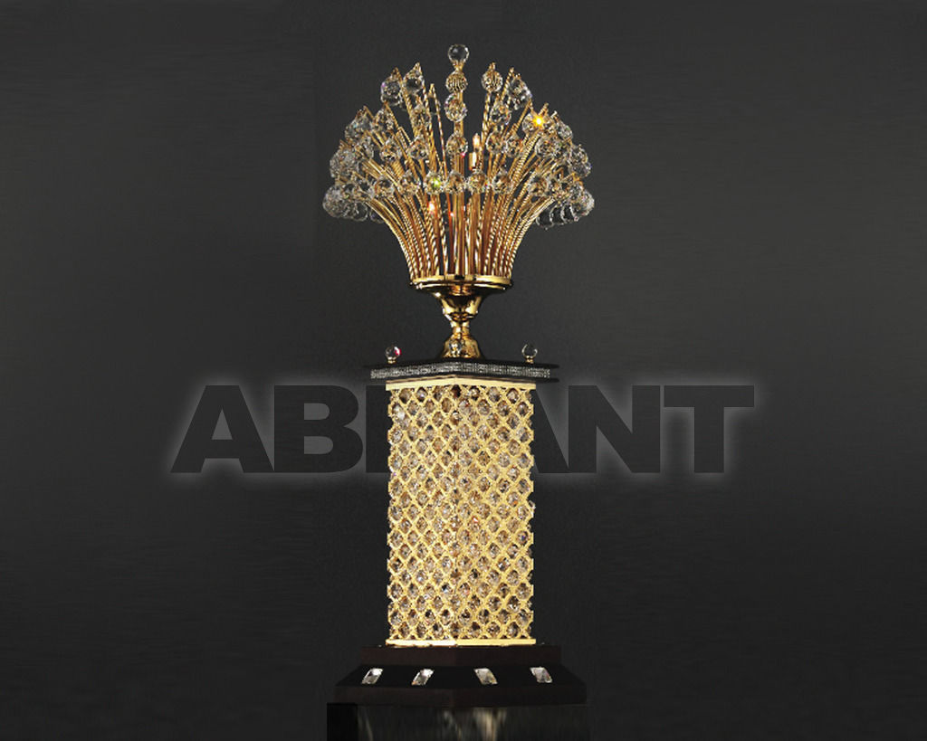 Купить Торшер Asfour Crystal Crystal 2013 FL 200/18 Ball Gold