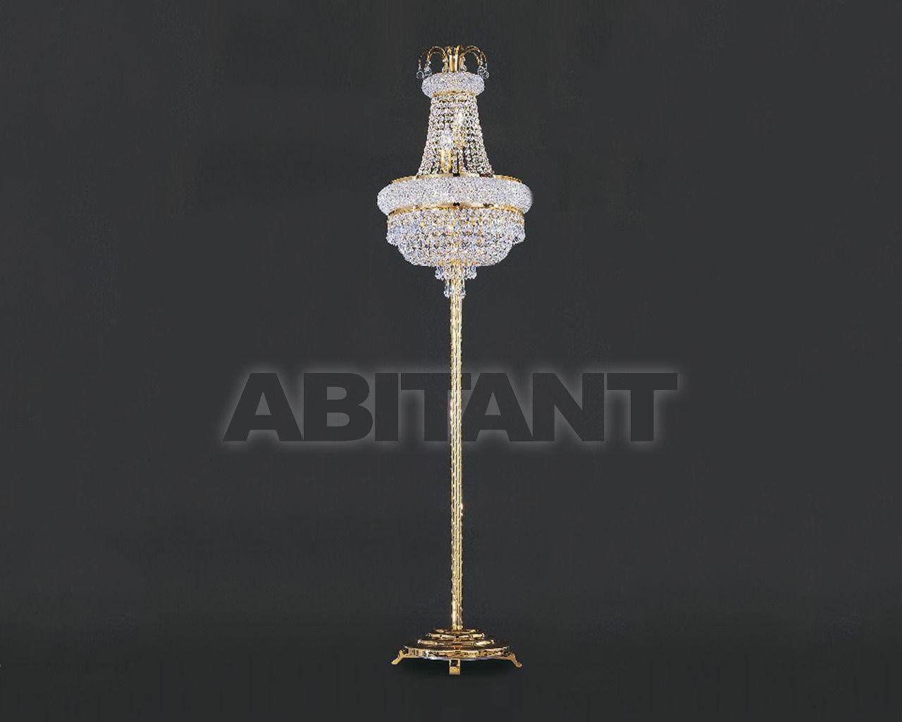 Купить Торшер Asfour Crystal Crystal 2013 FL 4080/45/7 Octagons*Beads Gold