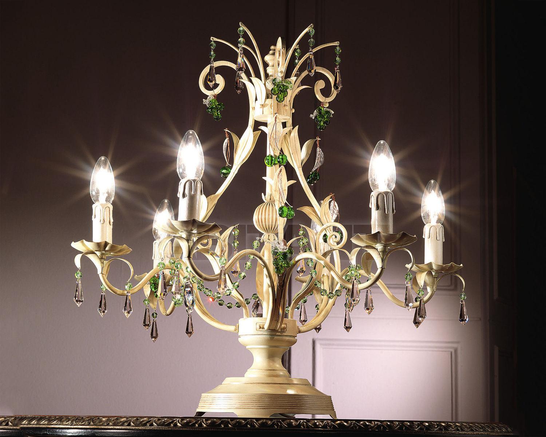 Купить Лампа настольная Non Solo Luce Provence CLARICE TL-06 PI
