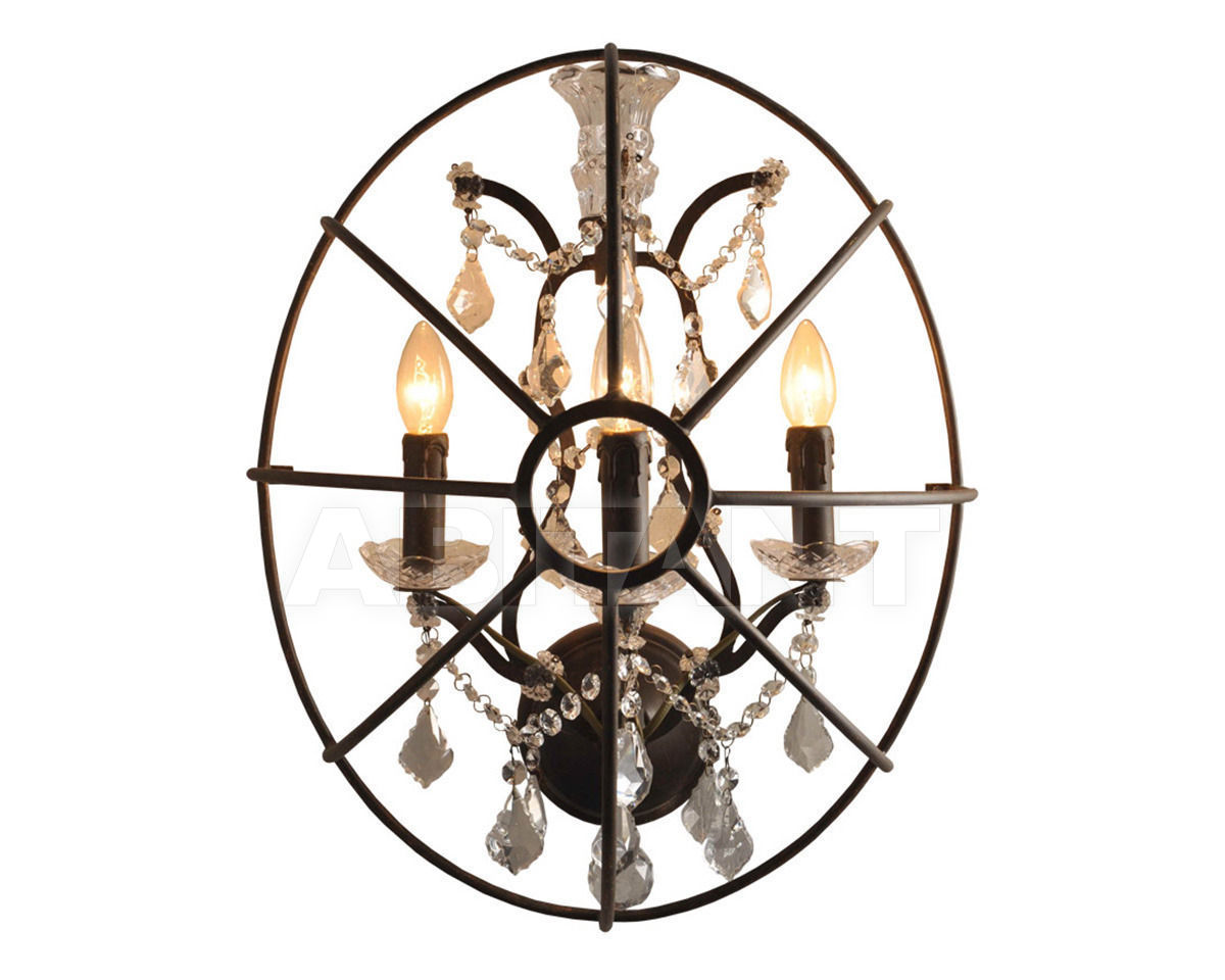 Купить Бра IRON OVAL SCONCE Gramercy Home 2014 SN014-3-RR