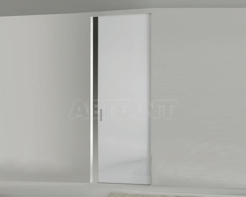 Купить Дверь  стеклянная Res Italia Doorscollection LEVIA Single sliding door into the wall