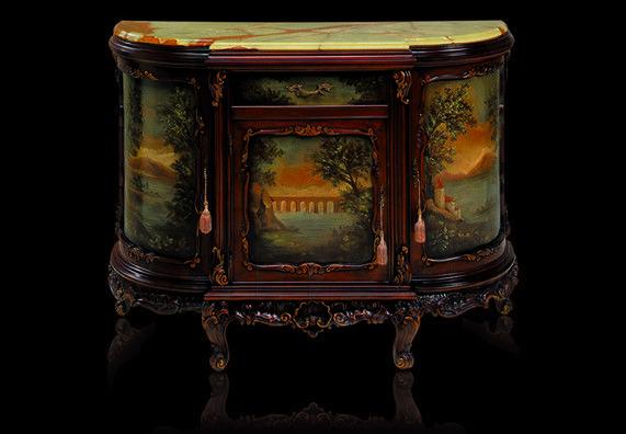 Купить Буфет Fratelli Radice 2012 121 mobile 3 porte con paesaggio 1