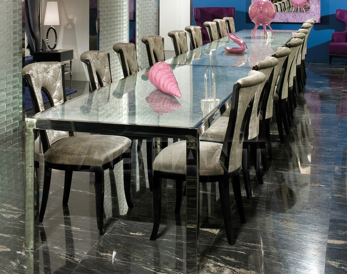 Купить Стол обеденный Kudrun Ipe Cavalli Visionnaire KUDRUN_TABLE