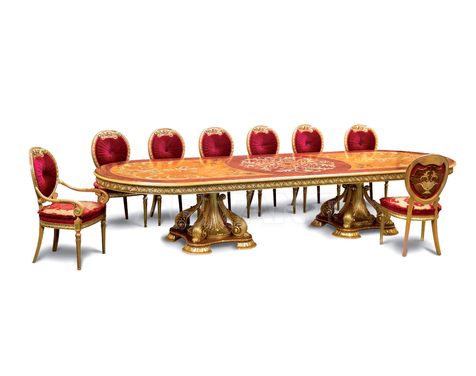 Купить Стол для конференц-залов Stil Salotti di Origgi Luigi e Figli s.n.c. Origgi Decor table410