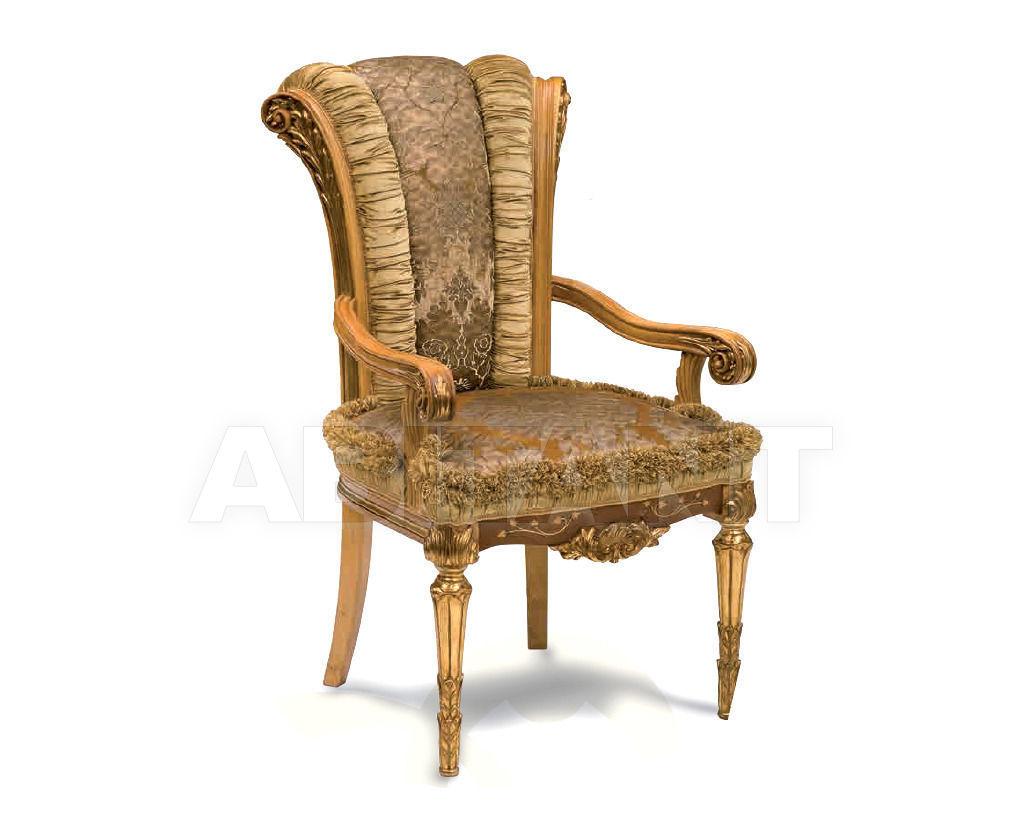 Купить Стул с подлокотниками Stil Salotti di Origgi Luigi e Figli s.n.c. Origgi queen chair2